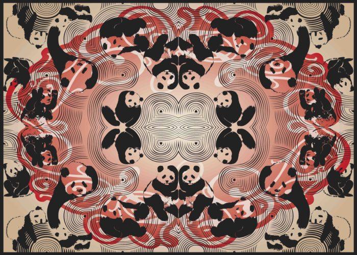 Pandamonium – Red (socio-politicking Series) by Booda Brand