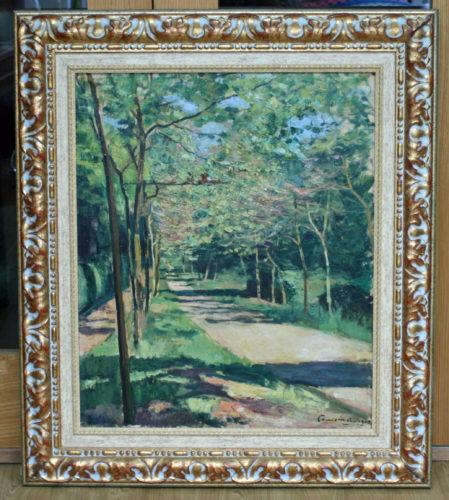 Sous-bois Dans Le Parc De St Cloud by Charles Camoin