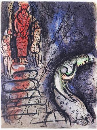 Assuérus Chasse Vashti by Marc Chagall