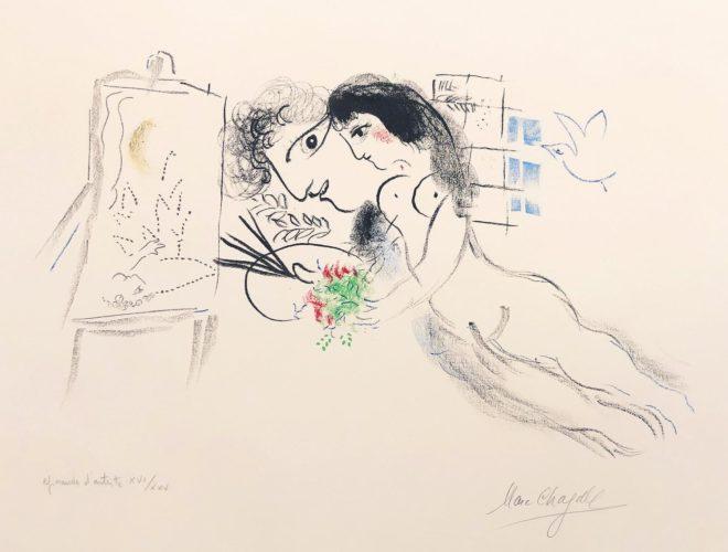 Rêve Familiar by Marc Chagall at
