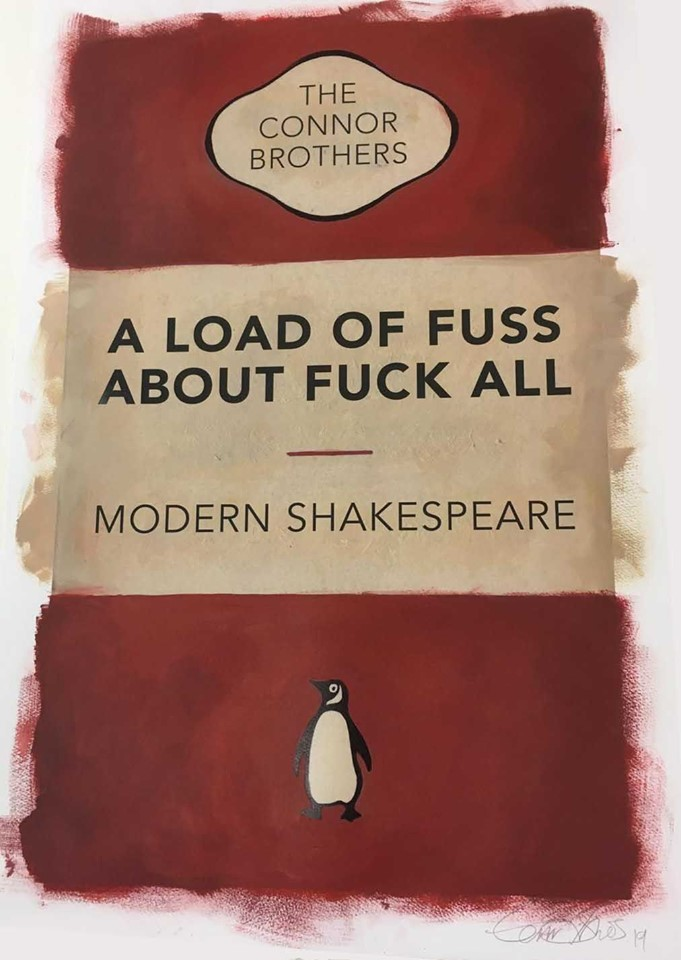 The Connor Brothers – A Load Of Fuss About Fuck All by The Connor Brothers