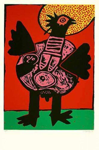 Big Bird (grosser Vogel) by Guillaume Corneille