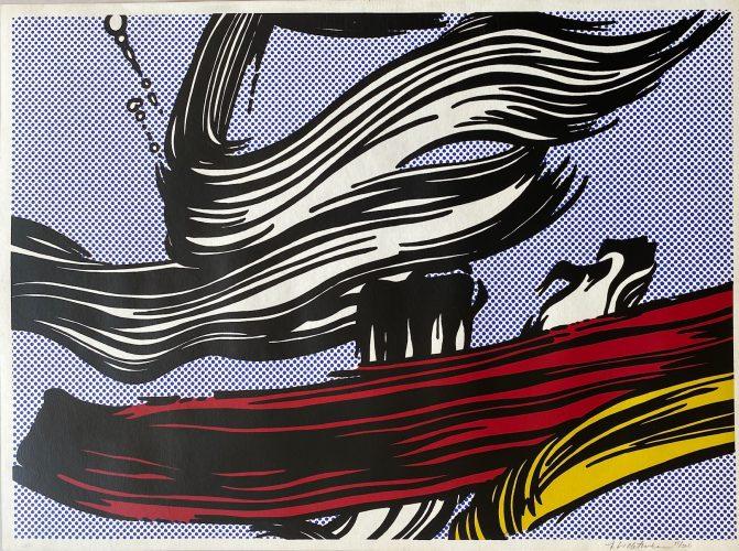 Brushstrokes by Roy Lichtenstein at Roy Lichtenstein