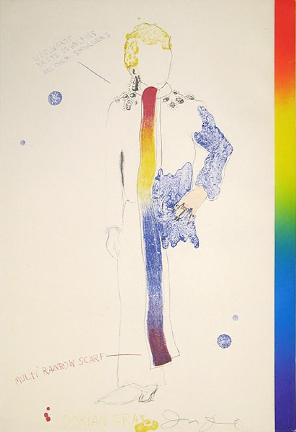 Dorian Gray, Rainbow by Jim Dine