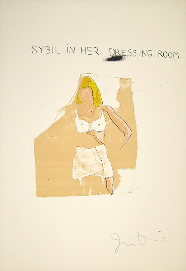 Dorian Gray, Sybil by Jim Dine