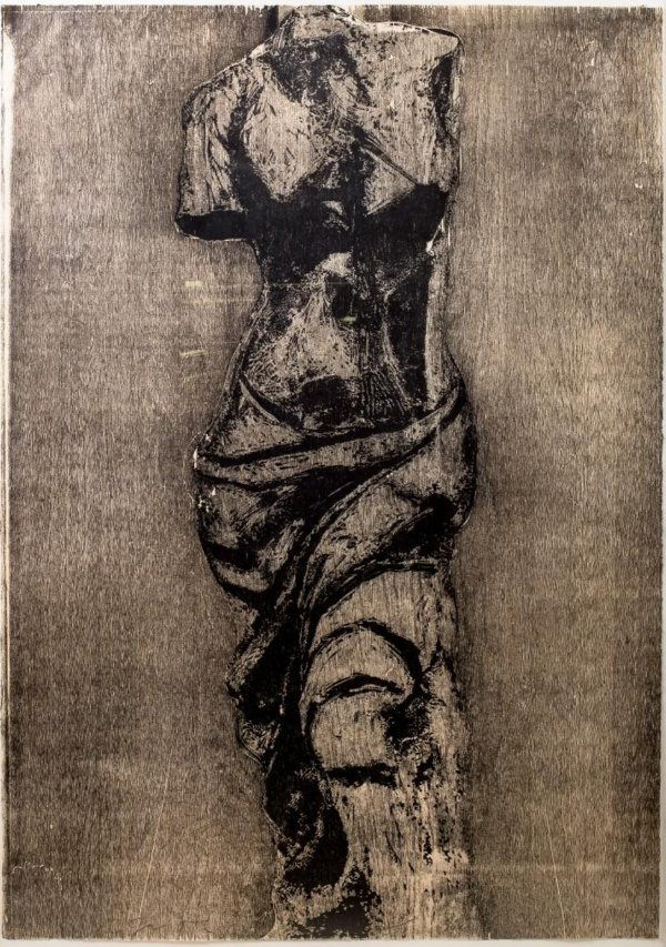 Untitled (Single Venus Image For G.S.) by Jim Dine
