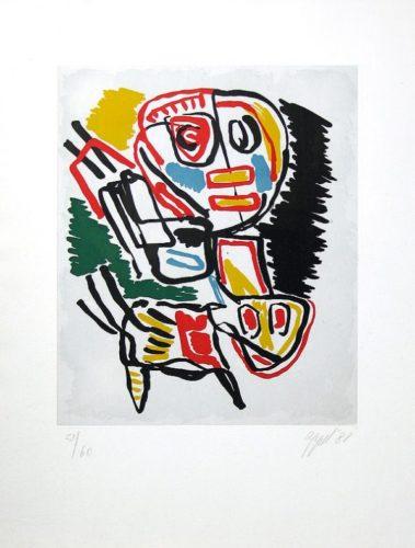El Amigo Del Hombre Ka 2 by Karel Appel