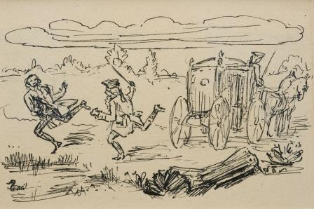 The Vikar Of Wakefield by Alfred Kubin