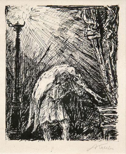 Albertine by Alfred Kubin at