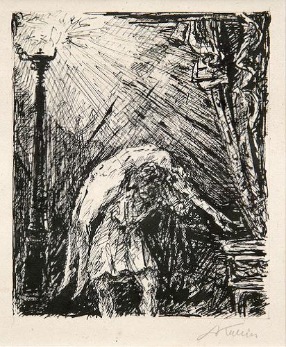 Albertine by Alfred Kubin