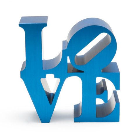 Love (blue) by Robert Indiana