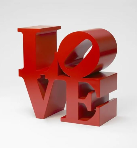 Love (red) by Robert Indiana