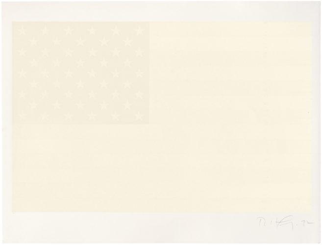White Flag by Robert Longo