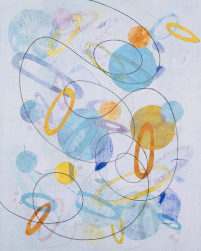 Spin And Swirl 4 by Melanie Roschko