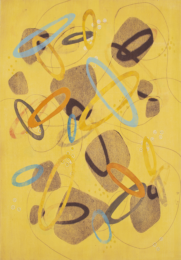 Spin And Swirl 5 by Melanie Roschko