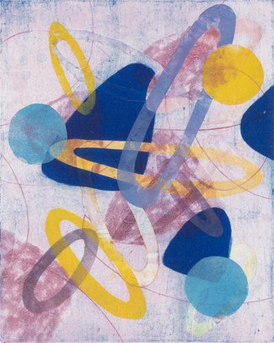 Toss And Turn 5 by Melanie Roschko