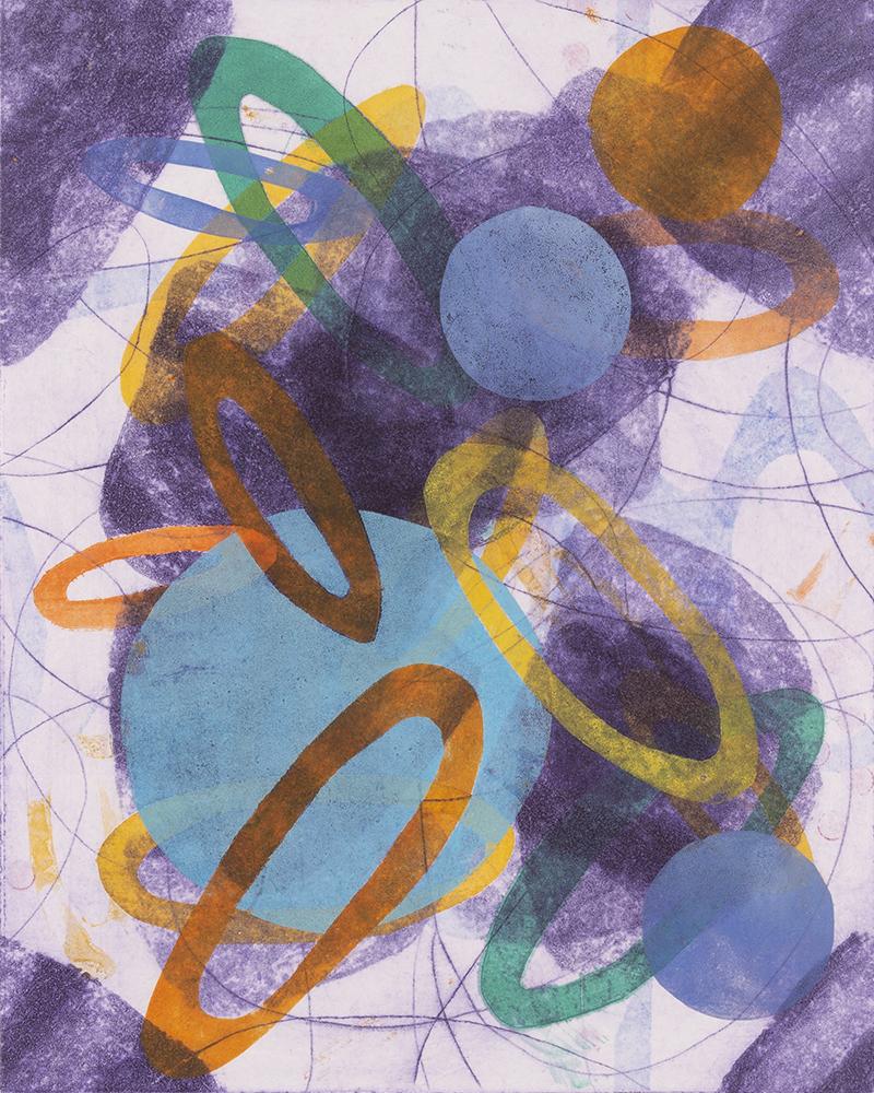Toss And Turn 6 by Melanie Roschko