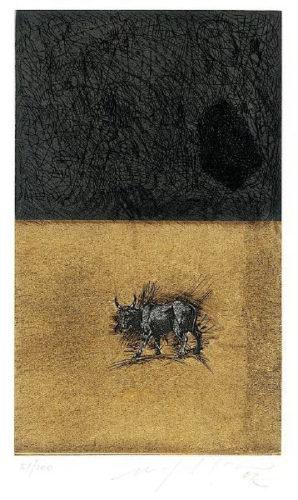 Bull by Mimmo Paladino at