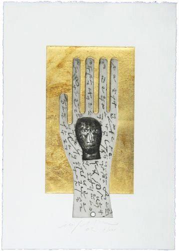 Hand by Mimmo Paladino at