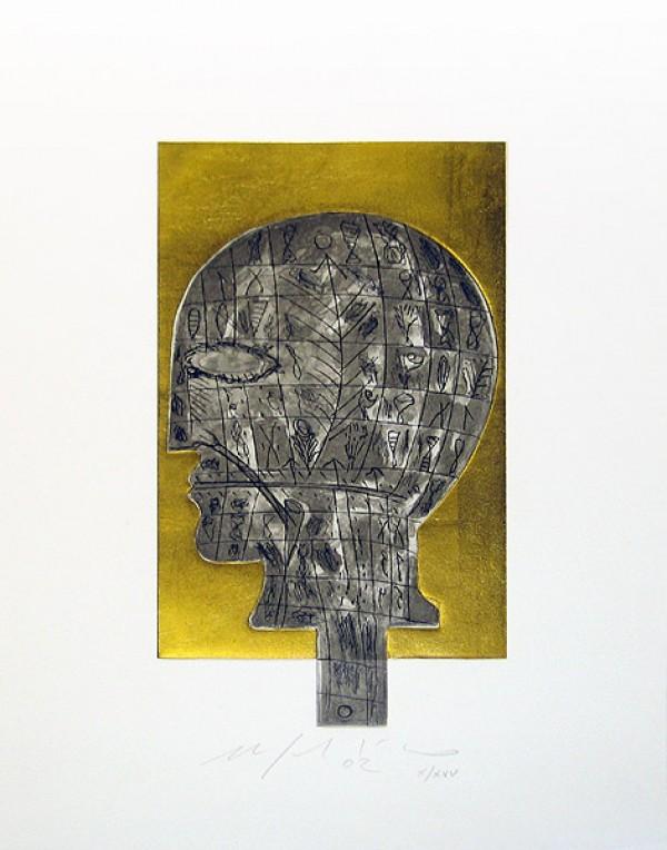 Head by Mimmo Paladino