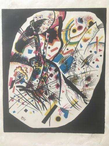 Kleine Welten Iii by Wassily Kandinsky at