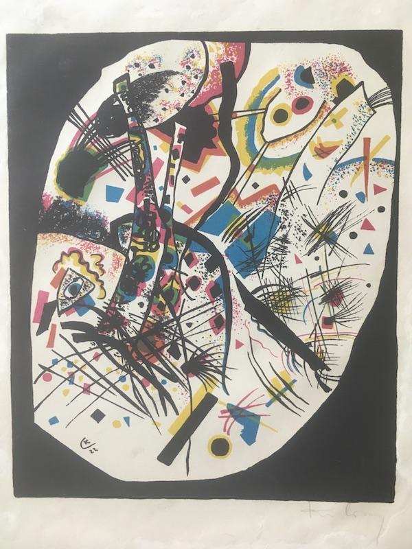 Kleine Welten Iii by Wassily Kandinsky