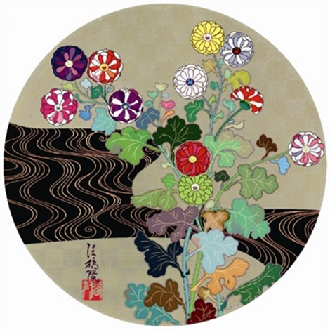 Kansei Korin Gold by Takashi Murakami