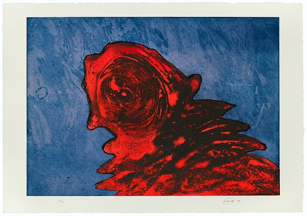 Zyklop Rot by Piene Otto at