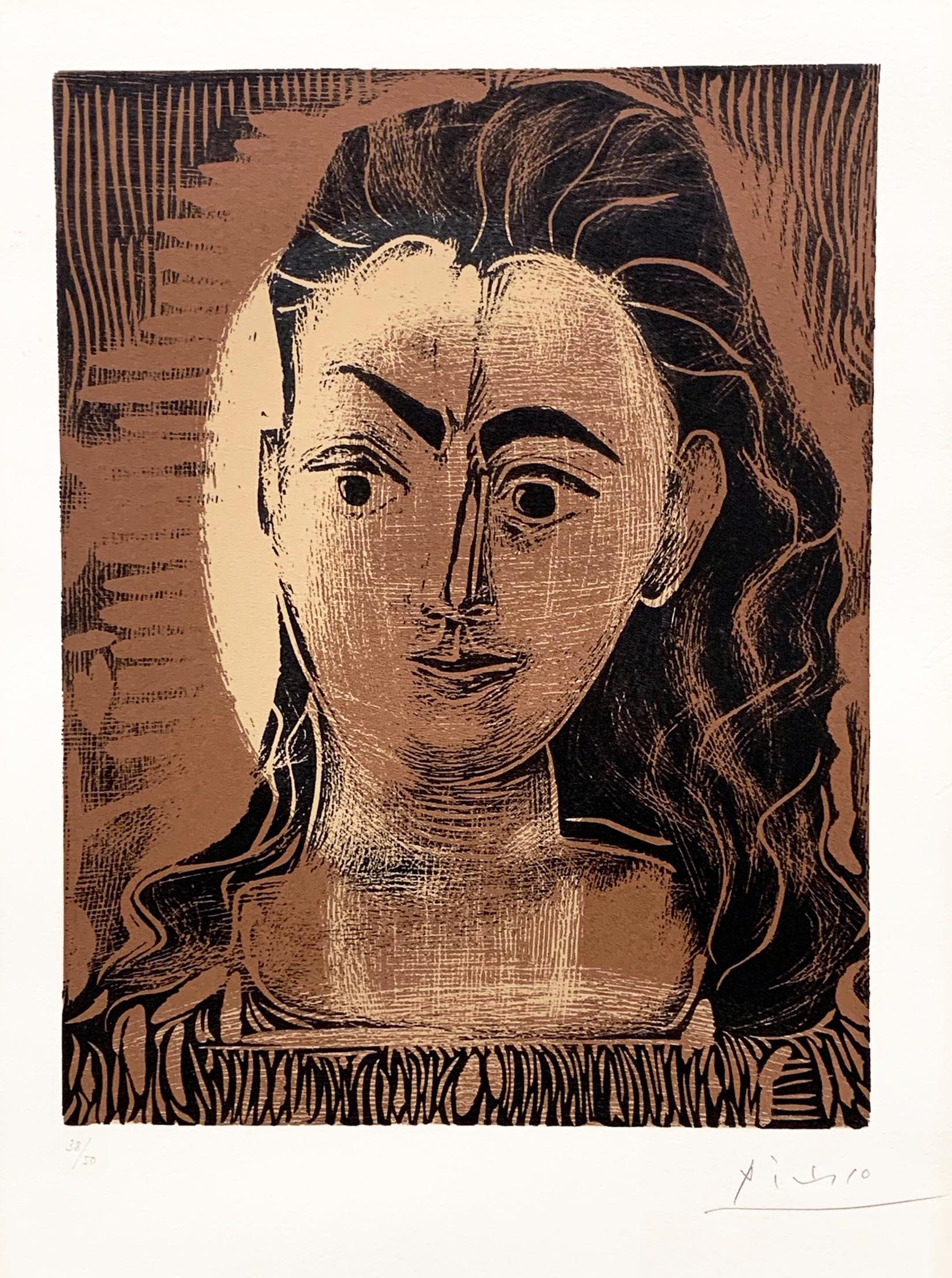 Petite Buste De Femme (small Portrait Of A Woman) by Pablo Picasso