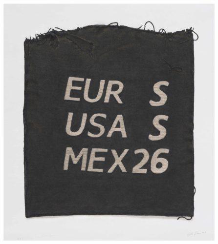Eur S, Usa S, Mex 26, Clothing Tag by Analia Saban at
