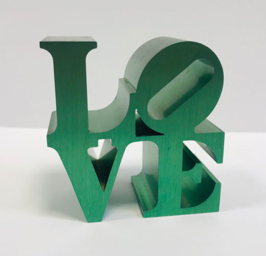 Love (green) by Robert Indiana