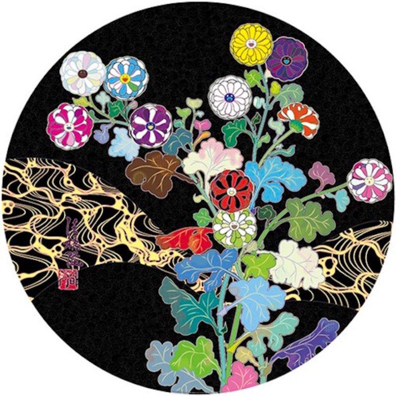 Kansai Wildflowers Glowing by Takashi Murakami