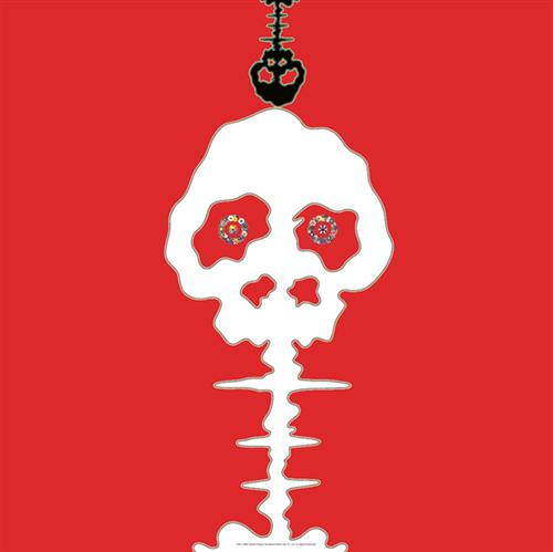 Time Bokan – Red – Time by Takashi Murakami