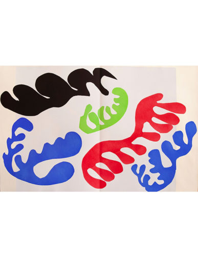 Le Lagon (lagoon) by Henri Matisse