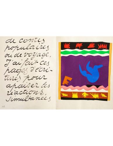 Le Tobogan (toboggan) by Henri Matisse