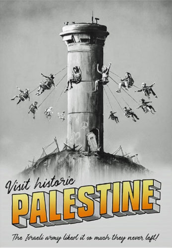 Visit Historic Palestine by Banksy at Lougher Contemporary