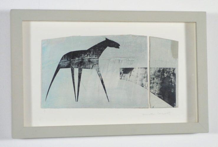 Light Blue Plough Lines by Henrietta Corbett