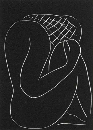 Modern Art: …Tenebres De Moi-Meme, Je M'abandonne A Vous… by Henri Matisse