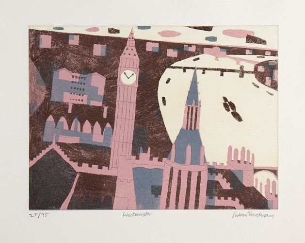 Westminster by Julian Trevelyan at