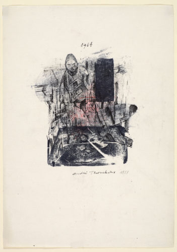 Untitled 1957/1964 by André Thomkins