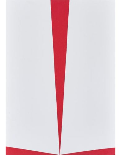 Untitled (red And White) by Carmen Herrera