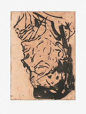 Elke VIII by Georg Baselitz