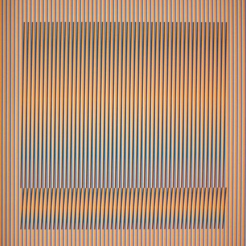 Induction Chromatique A Double Fréquence Série Orinoco 1 by Carlos Cruz-Diez
