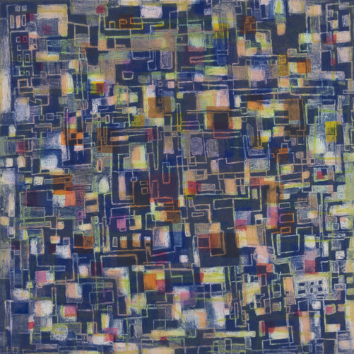 City Scramble by Catherine Shuman Miller at