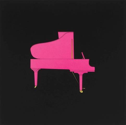 Piano by Michael Craig-Martin