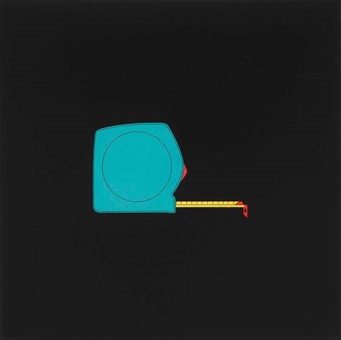 Tape Measure by Michael Craig-Martin