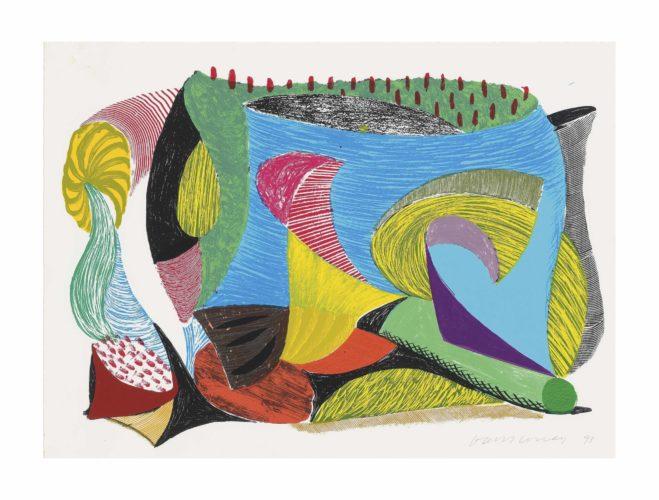 Above An Beyond by David Hockney