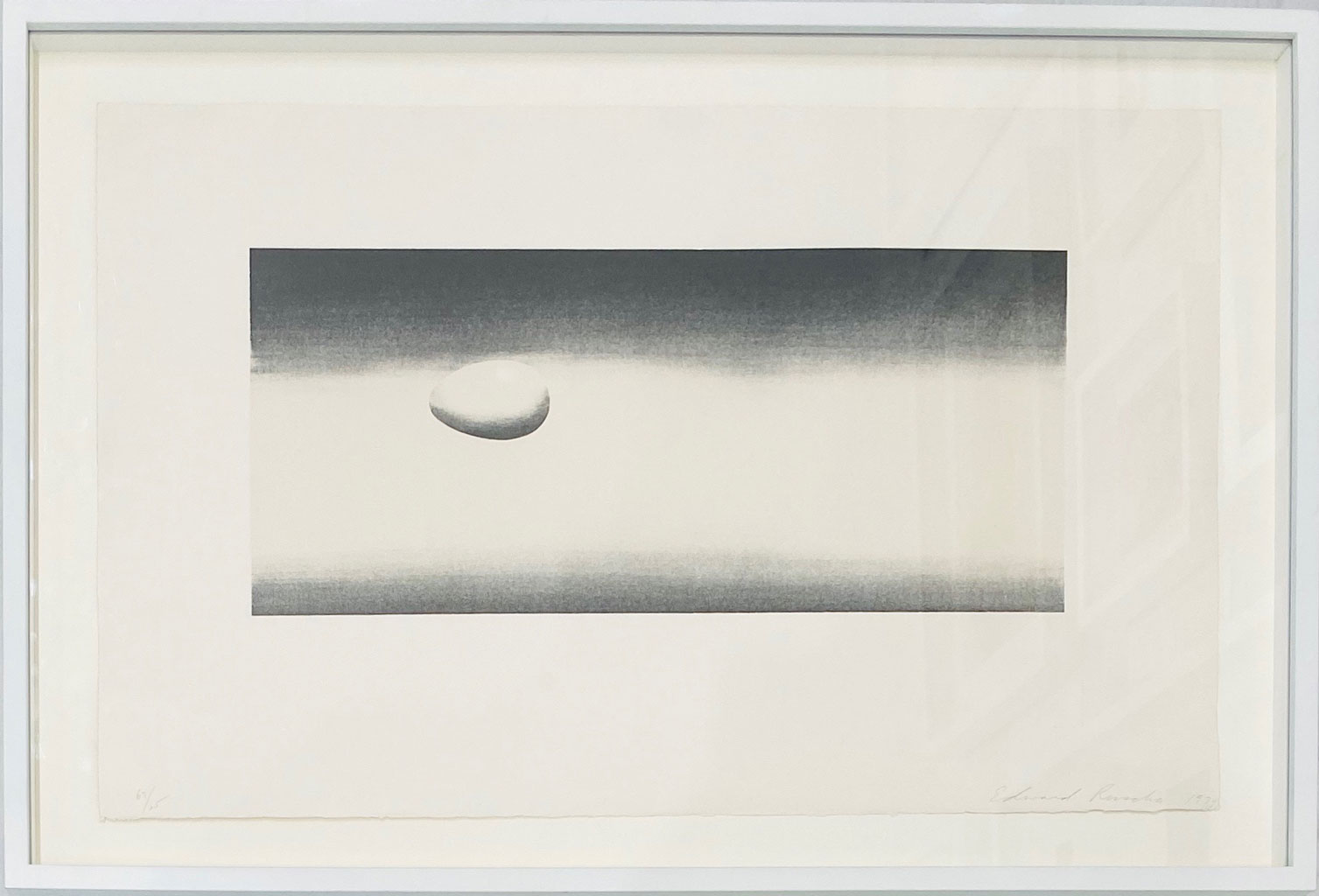 Egg (from The Domestic Tranquility Series) by Ed Ruscha