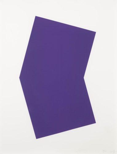 Purple by Ellsworth Kelly at Ellsworth Kelly