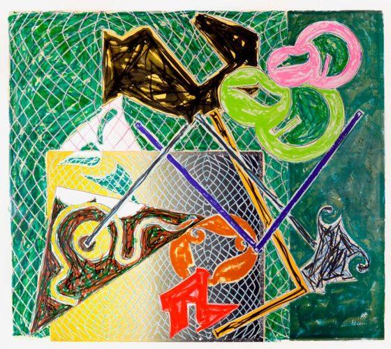 Shards V by Frank Stella at Frank Stella